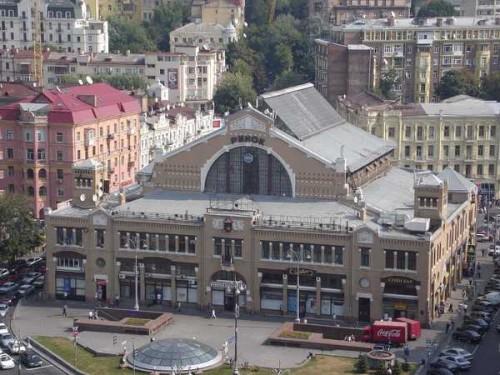 Бессарабский рынок в 2008 году