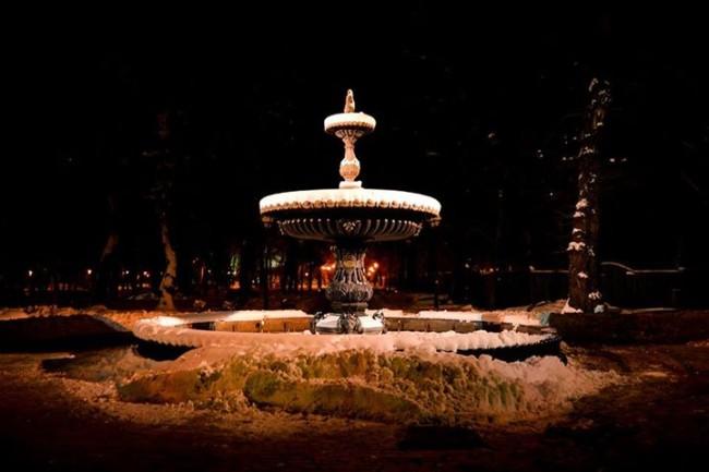 Фото Дмитрия Фоменко - фонтан Мариинский парк