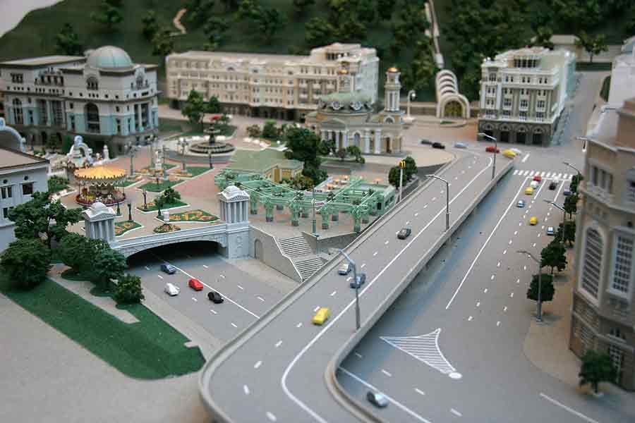 Проект реконструкции Почтовой площади в 3D