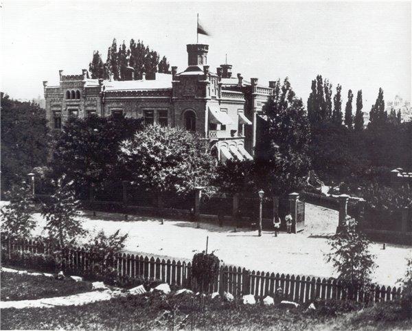 Дом барона Штейнгеля на улице Воровского, фото 19 века