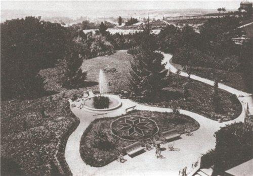 1880 год. Внутренний двор Воровского 27 (Бульварно-Кудрявская), нынешний НИИ травматологии и ортопедии