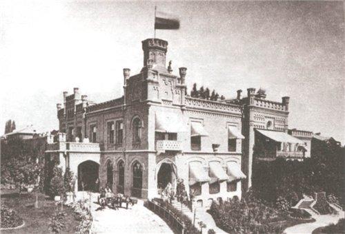Замок Штейнгеля, Киев, конец 19 века