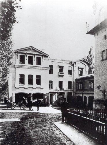 Бывший замок Штейнгеля на Бульварно-Кудрявской улице, Киев, 19 век