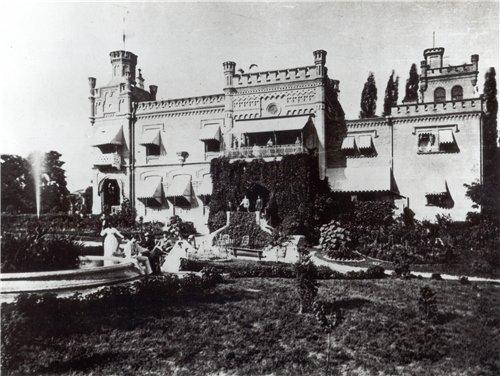 Замок барона Штейнгеля на Воровского, 19 век, Киев
