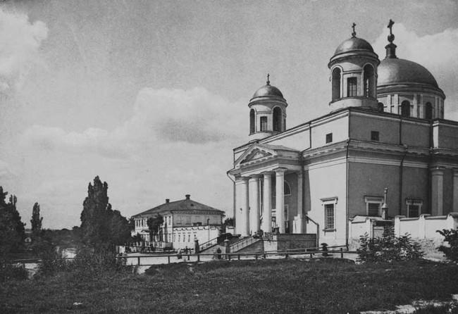 Александровский костел в 1890 году