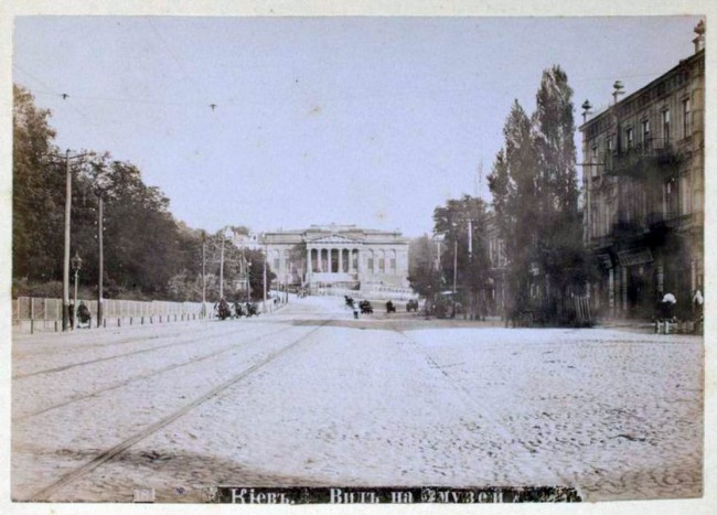 Улица Грушевского в конце 19 века