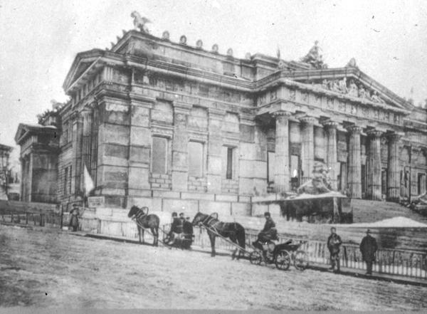 Городской музей антиквариата и искусств на улице Грушевского в 1900 году