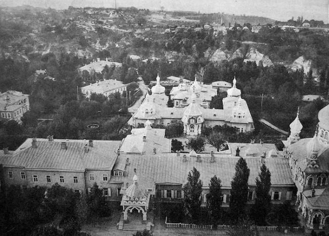 Покровский собор в начале 20 века