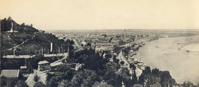 Общий вид Подола в начале 20 века
