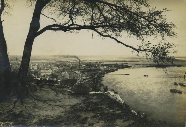 Подол, Днепр, начало 20 века, черно-белое фото