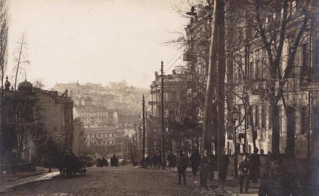 Лютеранская улица в начале 20 века
