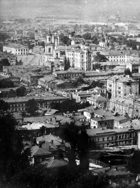 Вид на сердце Подола в начале 20 века