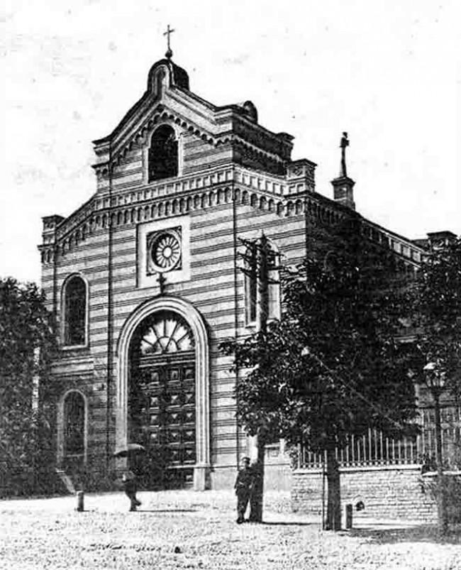 Кирха святой Екатерины в начале 20 века