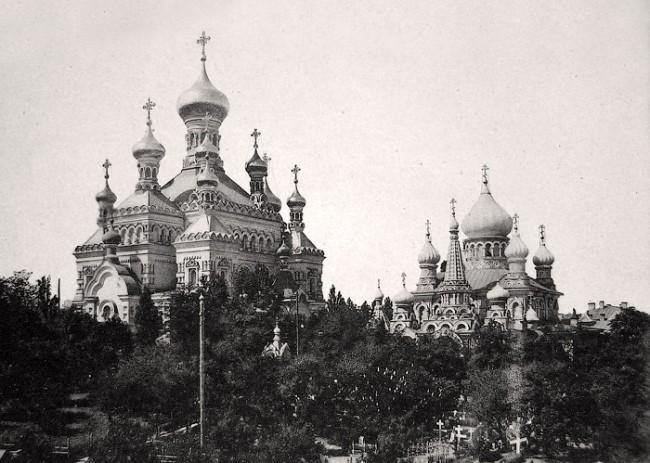 Покровский женский монастырь в 1906 году