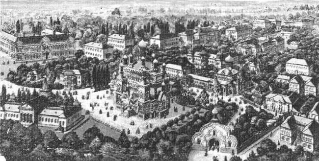 Покровский монастырь в начале 20 века