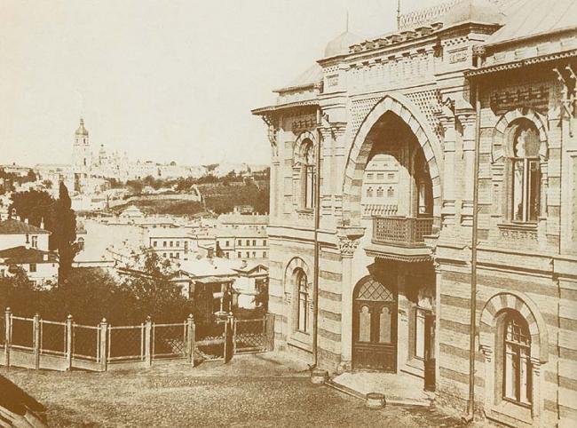 Особняк на Липках в начале 20 века