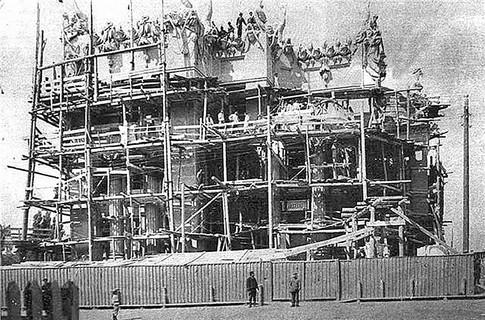 Как строили дом с химерами архитектора Городецкого