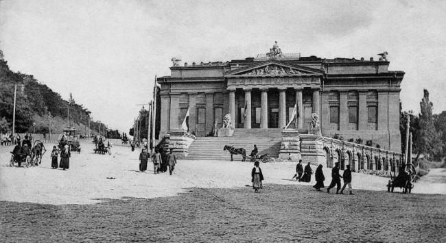 Улица Грушевского в 1906 году
