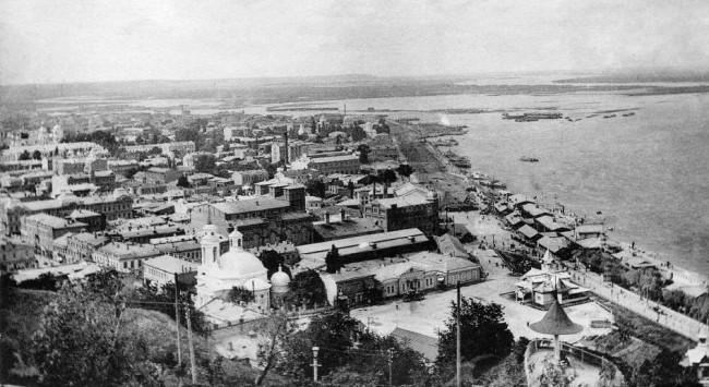Набережная Днепра в 1906 году