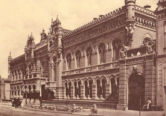 Здание НБУ в 1910 году