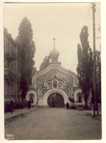 Покровский монастырь, ворота, начало 20 века