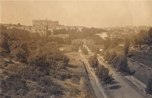 Петровская аллея в 20-х годах 20 века