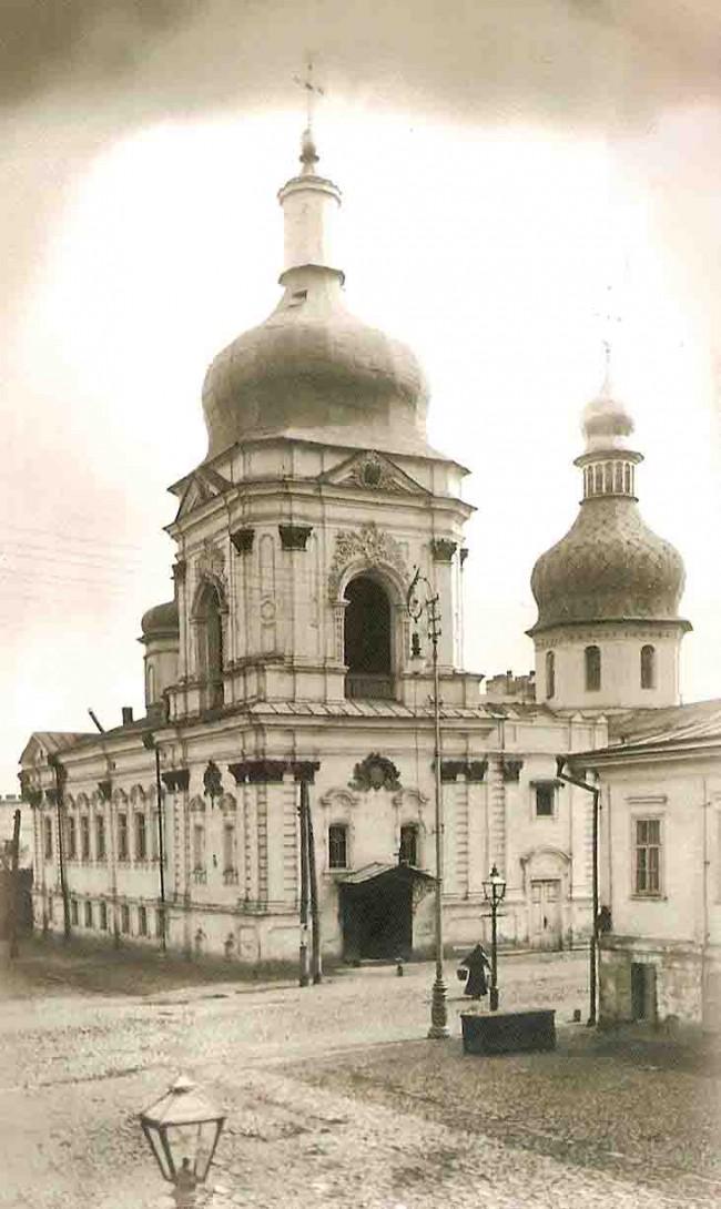 Церковь всех святых в 1930 году, улица Щекавицкая