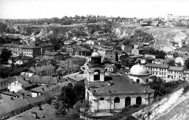 Крестовоздвиженская церковь в 1944 году