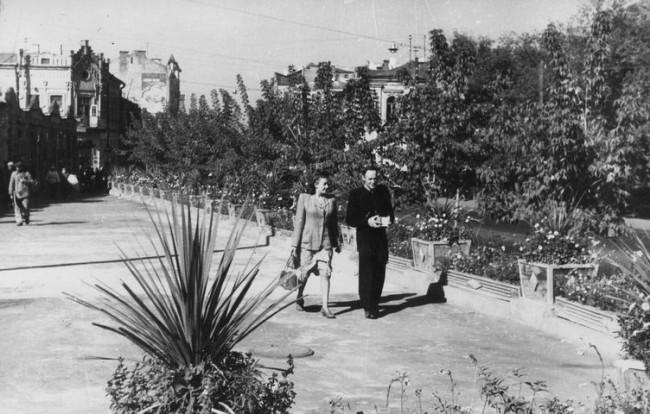 Львовская площадь в 1949 году