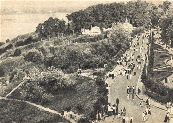 Петровская аллея в 1954 году
