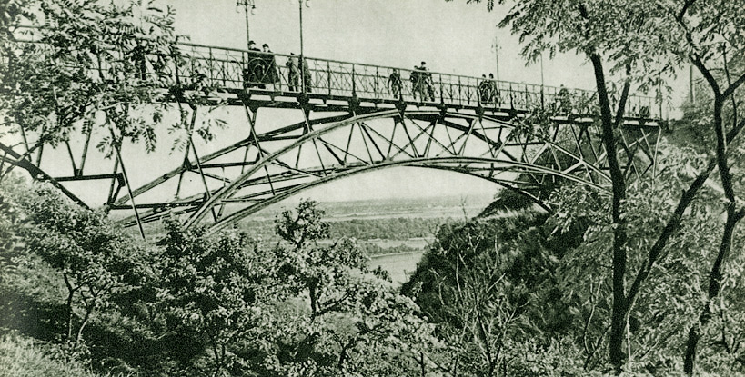 Чертов мостик в 54 году