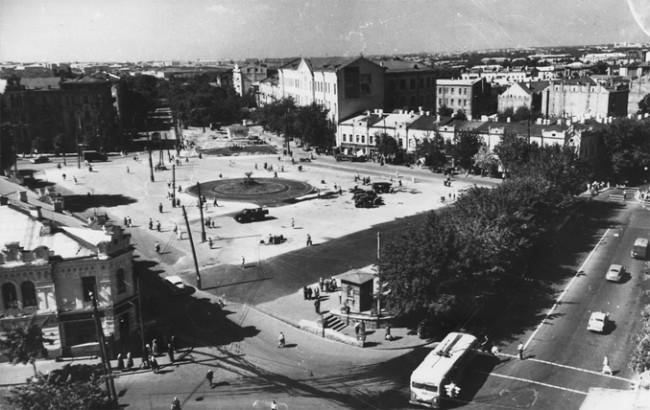 Сенная площадь в 1958 году