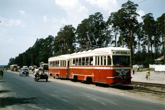 Район Святошин в 1959 году