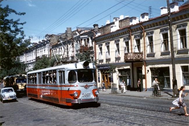 На улице Сагайдачного в 1959 году