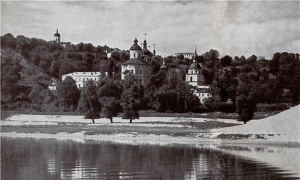 1960 год. Выдубицкое озеро и монастырь