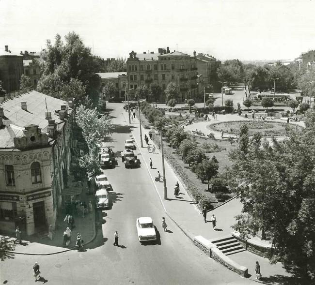 Львовская площадь в 60-х годах, Киев