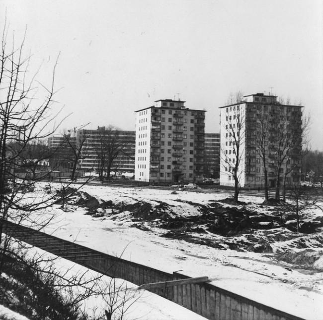 Лыбедь Киев Борщаговка в 70-х годах