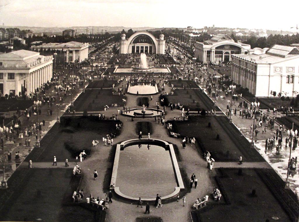 Выставка достижений народного хозяйства в Киеве, 60-е годы