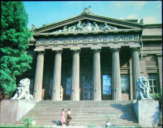 Национальный художественный музей Украины в 80-х годах