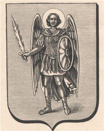 Герб Киева в 1889 году