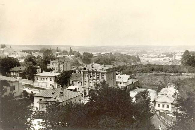Улица Ивана Франко в начале 20 века