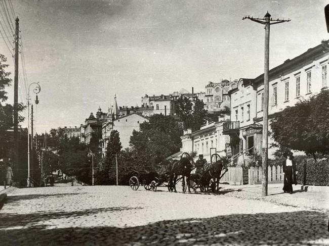 Улица Франко в конце 19 века
