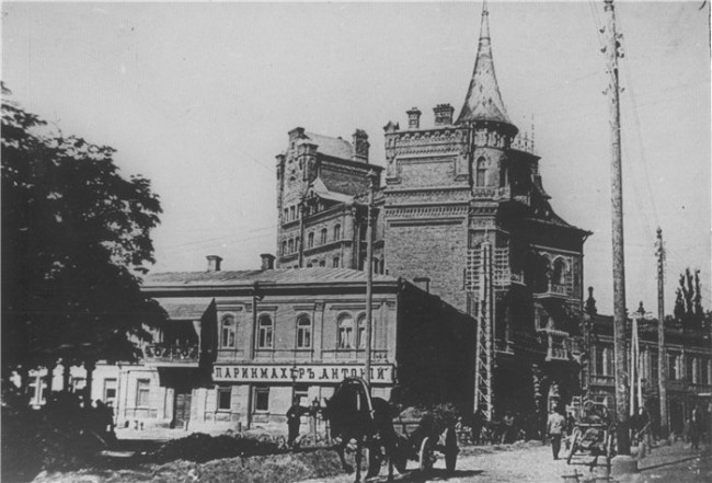 Замок на Ярославовом Валу в конце 19 века