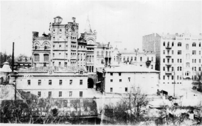 Большая Подвальная улица в начале 20 века