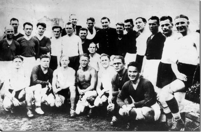 Киевское Динамо во время войны в 1942 году