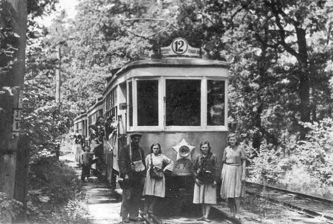 Пуща-Водица в 1949 году
