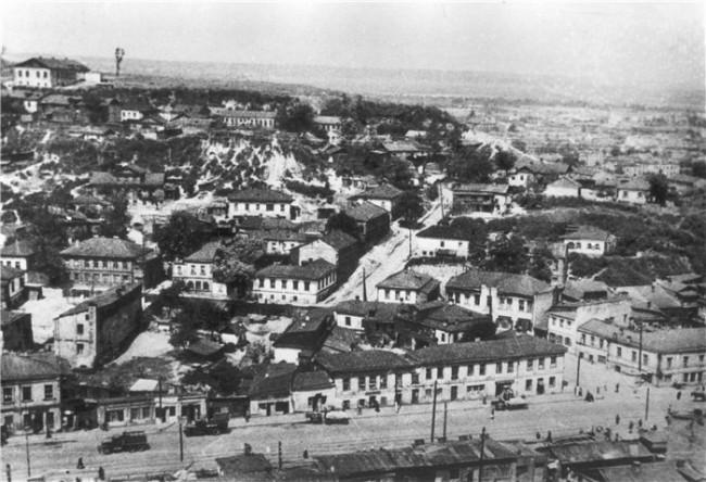 Как застраивали Щекавицу в середине 20 века