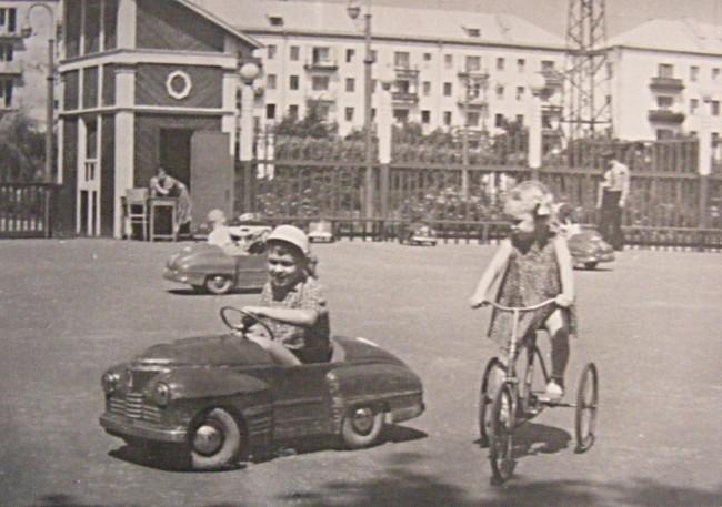 В Голосеевском парке в 62 году