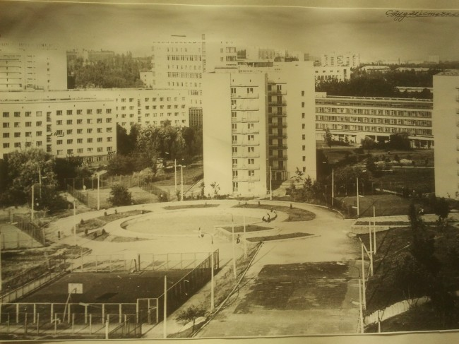 Студгородок на улице Ломоносова в 70-х годах