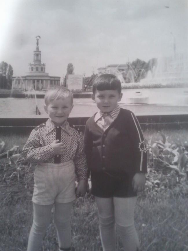 ВДНХ в Киеве в 1978 году